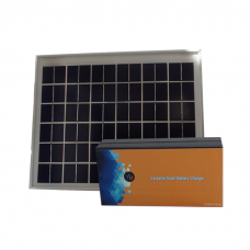 Versatile Solar Battery Charger With Solar Panel