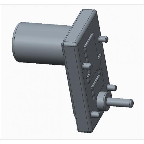 Takanawa 555 metal gear motor for Gear motor 500 rpm