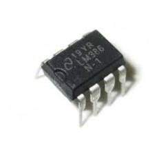 LM386N-1 Low Voltage Audio Power Amplifier IC