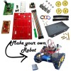 51 part Remotely Operated Robot Construction Set