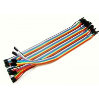 200mm Ribbon- 40 X 1 Pin Female connectors