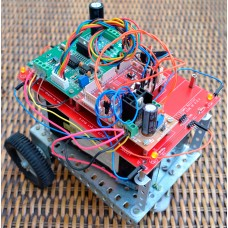 InfraRed Controlled 2-Wheel BOT Construction Set