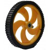 90 x 15 mm Robot Wheel and Tyre for 6mm shaft