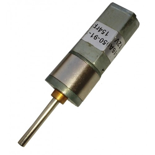 12v 154 rpm spur geared dc motor for Dc gear motor 12v 500 rpm