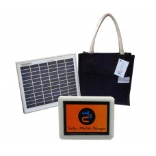 Solar Charger for Mobile and Power-bank Battery with Travel Bag