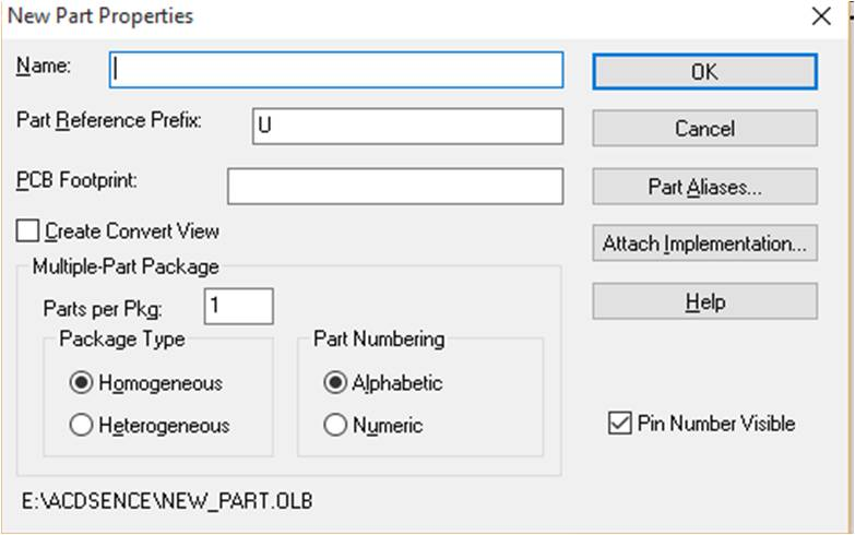 How to create a new symbol in OrCAD
