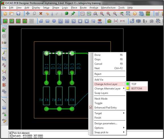 Creating the PCB layout (Gerber) using PCB Editor- Part 2